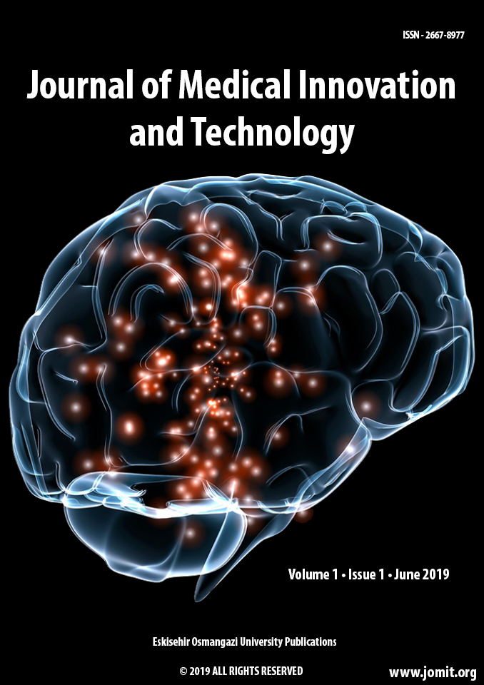 Journal of Medical Innovation and Technology Vol 1 - Iss 1
